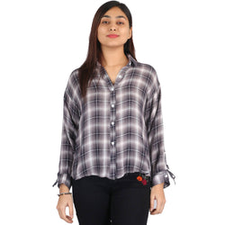 Fahiontiara Collection of cotton rayon Casual Women Western Wear Shirts $ FTS20