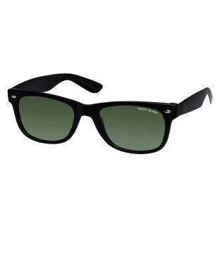 David Blake Green Wayfarer UV Protected Sunglass