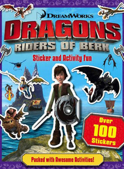 Sticker Book: How To Train My Dragon
