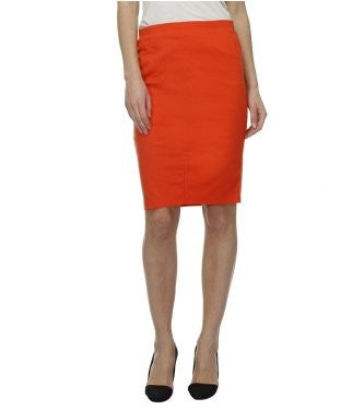 Glam a gal coral kneelength skirt