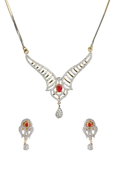 BAUBLE BURST Necklace with Earrings-100000876617