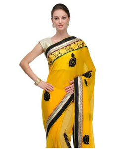 MYRAA Saree with Unstitched Blouse