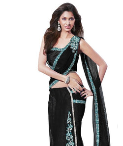 Saree With Unsitiched Blouse AW_100000376235