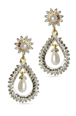 Pearl Symphony Earrings - JSENEAR1502