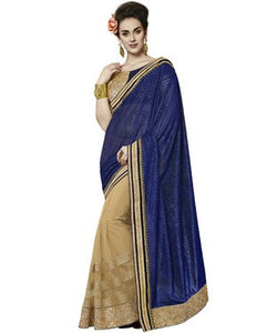 Jacquard Saree with Blouse