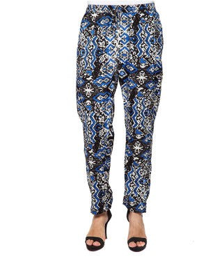 American Swan Black And Multi Pant