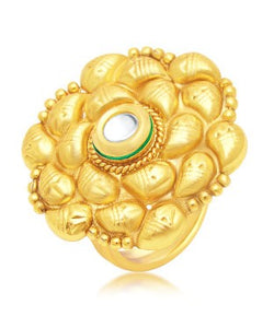 Sukkhi Fashionable Gold Plated Ring For Women