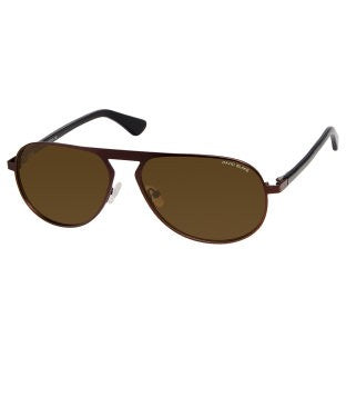 David Blake Brown Aviator Polarized UV Protection Sunglass