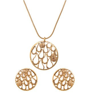 BAUBLE BURST Chain With Pendent And Earring