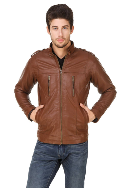 Smerize Men's Wolverine Faux Leather Jacket $ 1SME