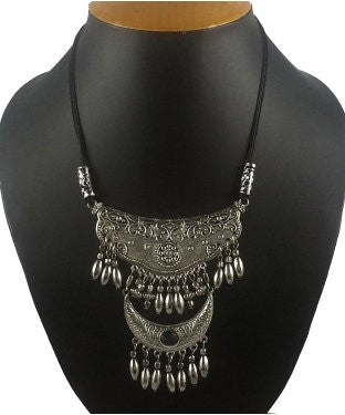 Aradhya Silver Plated Sterling Silver Necklace