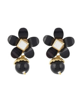 Aradhya Alloy Jewel Set (Black, Gold)