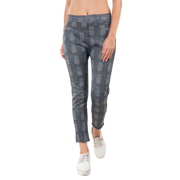 Baluchi's Check Plaid Print Jeggings $ BLC_JEG_08