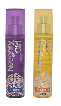 Naughty Girl TOUCH & SUMMER Perfume Spray for Women- (Set of 2) (60ml each)
