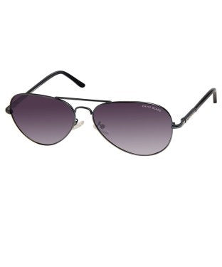 David Blake Grey Aviator Polarised, UV Protected Sunglass