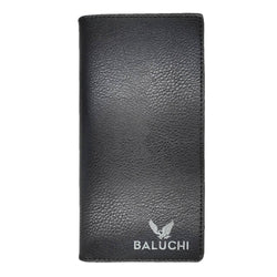 Baluchi Black Textured Long Wallet for Men & Women $ BLC_LNGWLT_BLK_01