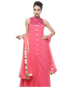 Georgette Gown with Dupatta