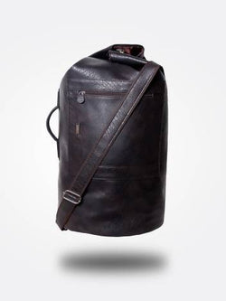 Strutt Unisex The Hustler - The New age Brown Duffle bag / Rucksack $ SMD531