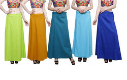MY TRUST Cotton Multi Color Color Saree Petticoats $ PE-11