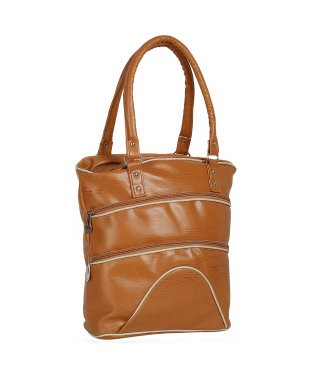 KACEY Brown PU Handbag