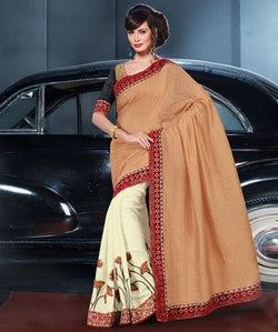 Viscose Saree with Blouse