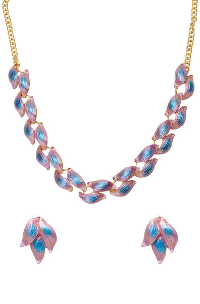 BAUBLE BURST Necklace With Earrings-100000940716