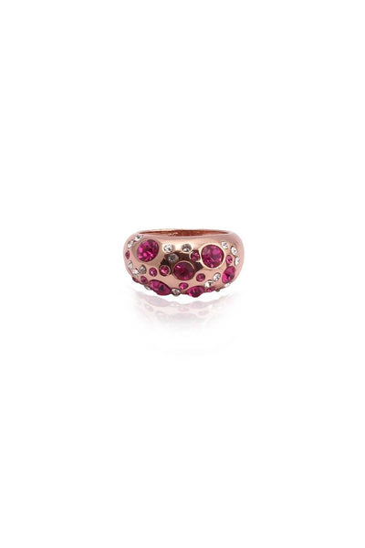 Pink Pavement Ring-7 - JAWCRIN4167S7