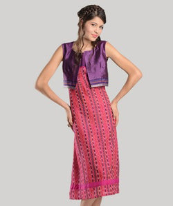 DESIGN STREET Long Dress With Shrug