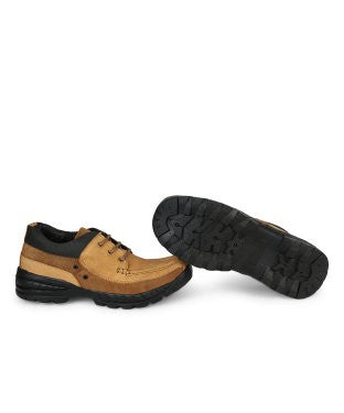 KACEY Light Brown AIRMIX Sole Casual Shoes