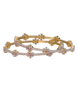 BAUBLE BURST Spring Flower Bangles
