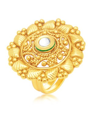 Sukkhi Modish Gold Plated Ring For Women
