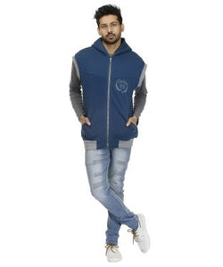 FASHION GARAGE Fleece  hoodied Sweat Shirt