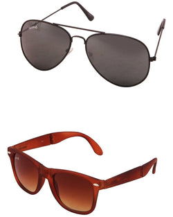 Benour pack of 2 Unisex Sunglasses $ BENCOM203