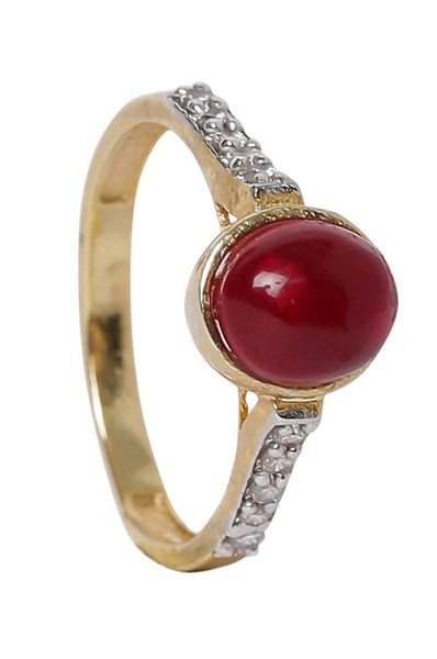Red Dome Ring - JSPDRIN3031S6