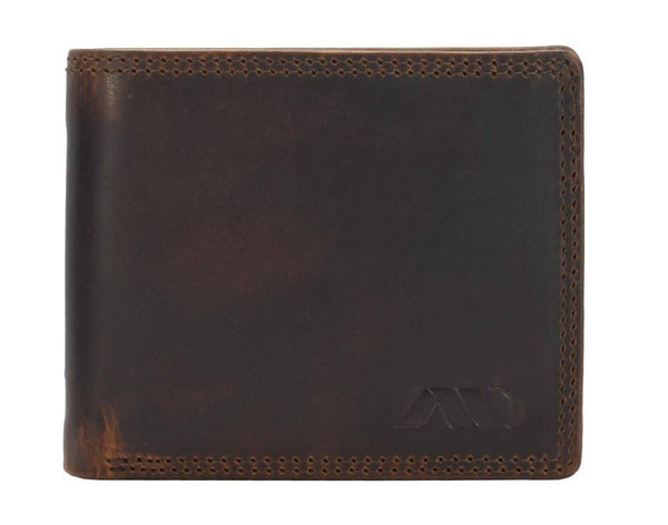Annodyne Men's BROWN ALAN Genuine Leather Wallet_A522WM $ R_A522WM_CRN_BRN