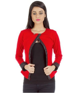 Vea Kupia Red Shrug