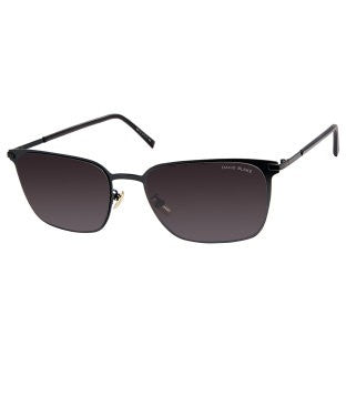 David Blake Black Wayfarer Gradient, UV Protected Sunglass
