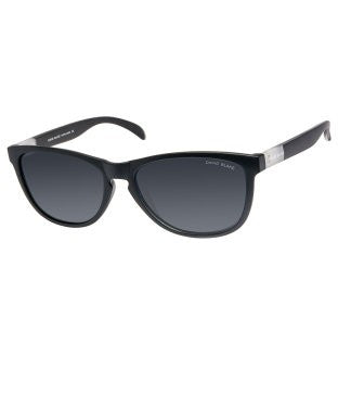 David Blake Grey Wayfarer Polarized, UV Protected Sunglass