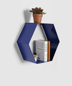 THE NEW LOOK Hexagonal Shape Wall Shelf-100000636329