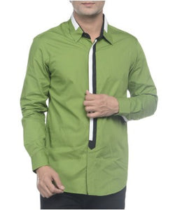 See Designs Green F/S Shirts