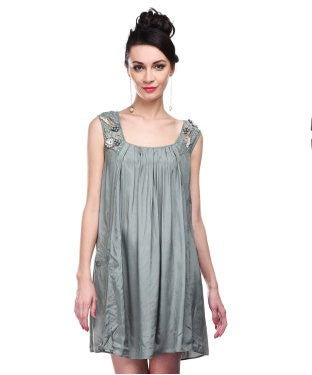 PALLAVI MOHAN Sea Green SHORT DRESS