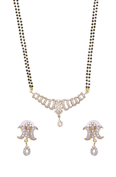 Star Droplets Mangalsutra Set - JSTNMGS1685