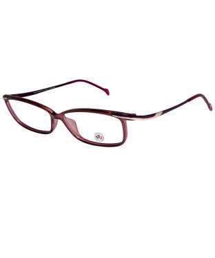 David Blake Purple Rectangular Full Rim EyeFrame
