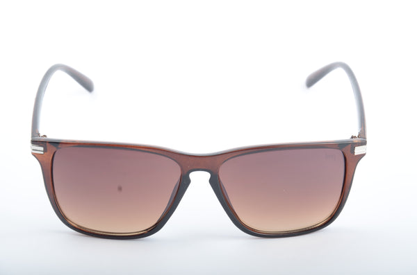 Lawman UV Protected Wayferer Brown Unisex Sunglasses-LawmanPg3 Sunglasses LA2915 C5