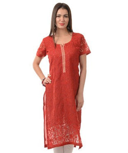 TANZEB Red Kurta