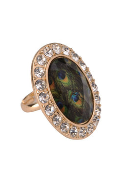 Peacock Eye Ring  - JIAFRIN5976