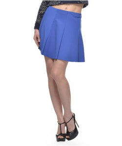 Glam A Gal Blue Short Skirt