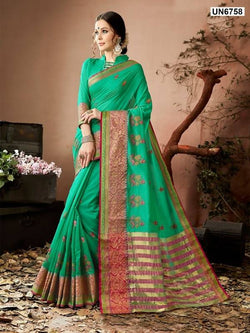 Umang NX Pink Georgette Designer Embroidery Sarees $ UN6874