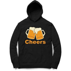 Partum Corde Unisex Black Sweat Shirts And Hoodies CHEERS $ CHEERS6056