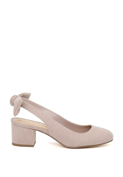 London Rag Nude Color Slingback Round Toe Sandals $ SH1553